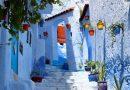 Qyteti blu i Marokut, askush nuk e din pse filloi të lyhet me këtë ngjyrë